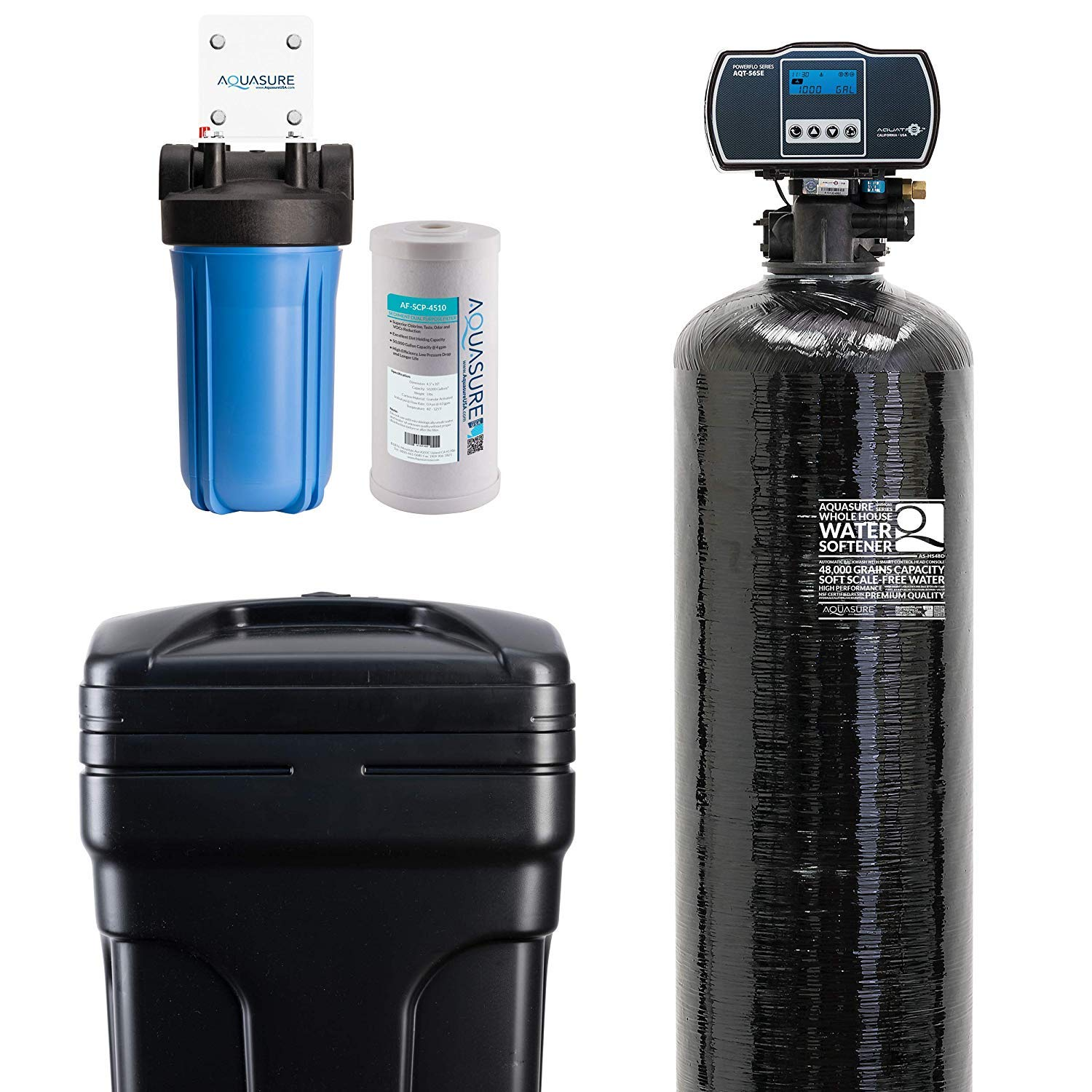 CHEAP Aquasure Water Softener w/Aquatrol Digital Head and ...