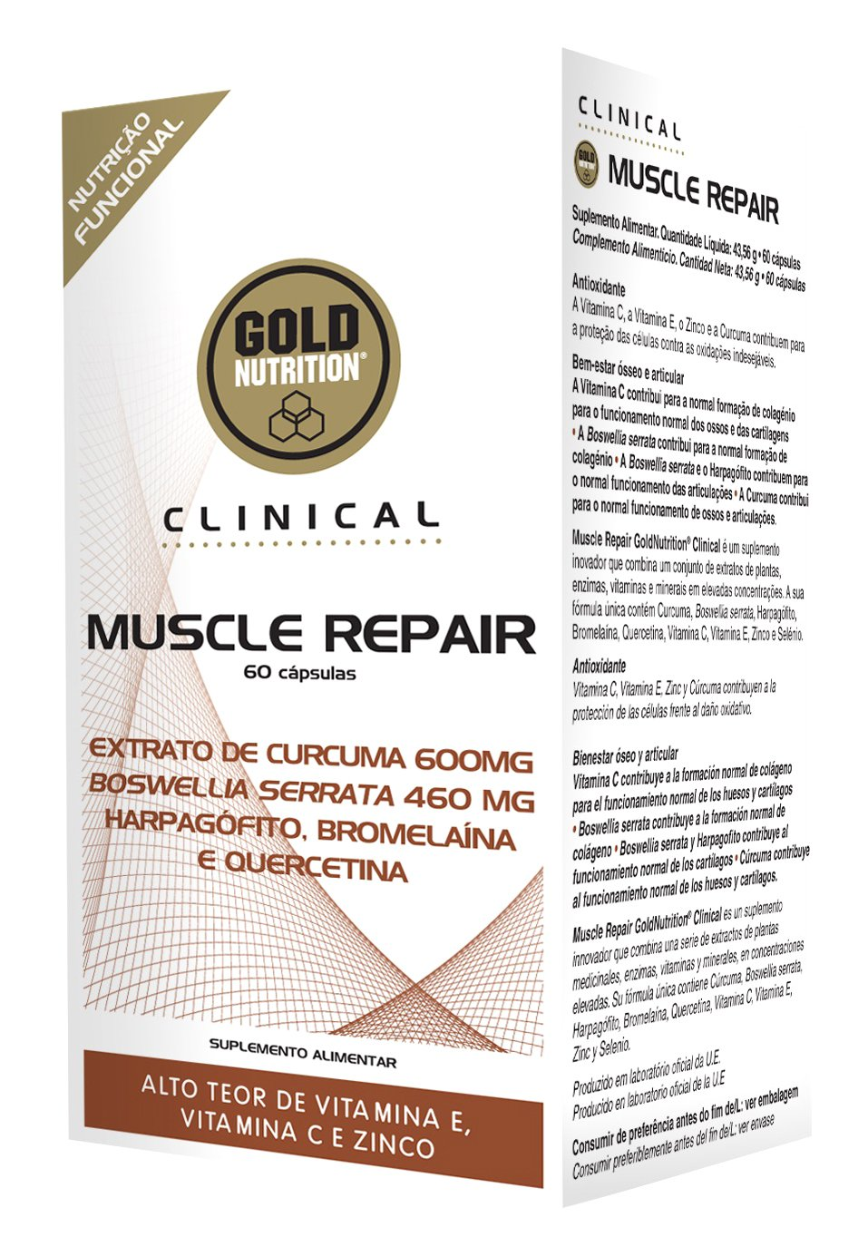 Clinical Muscle Repair - 60 Cápsulas: Amazon.es: Salud y cuidado personal
