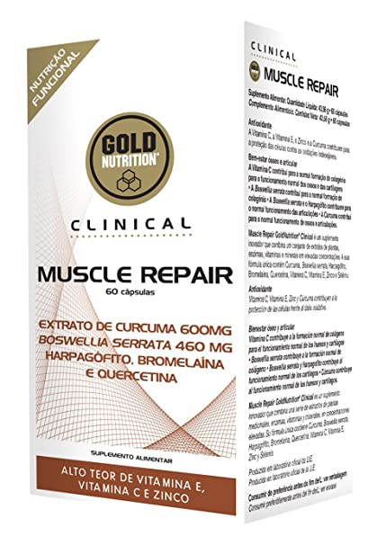 Clinical Muscle Repair - 60 Cápsulas