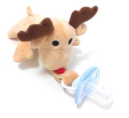 y # x2DC;... Animal de peluche bebé chupete y chupete ...