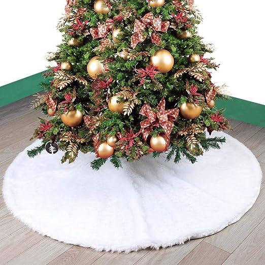 falda arbol de navidad, Faldas para el árbol Piel de imitación ...