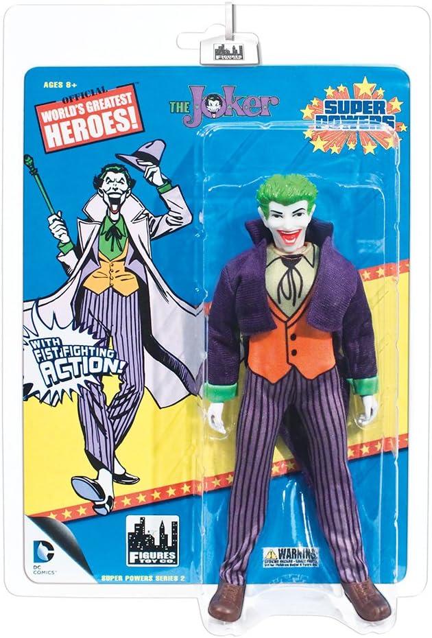 Joker par FTC Super pouvoirs style rétro Action Figures Series 2