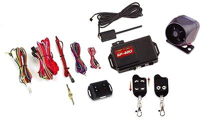 amazon com crimestopper sp 400 car alarm with remote start keyless rh amazon com Roll Paper Sp-400 Roll Paper Sp-400