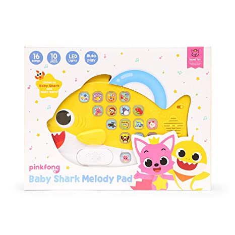 3f685255a Amazon.com: Pinkfong Baby Shark Melody Pad: Toys & Games