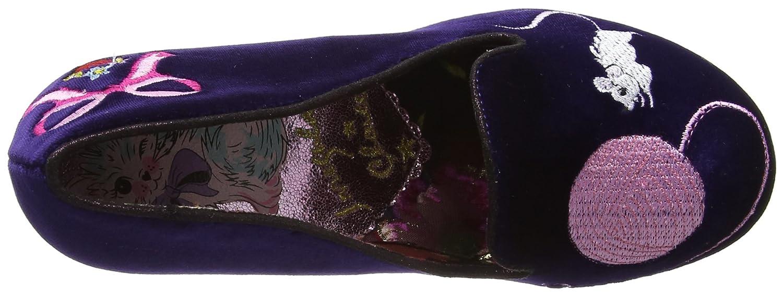 Irregular Choice Damen Damen Damen Fuzzy Peg Pumps, violett Violett (Purple B) f629d8