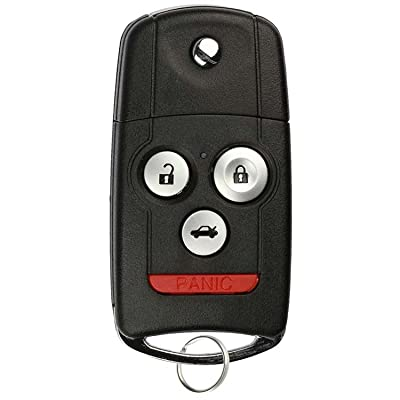 KeylessOption Keyless Entry Remote Fob Ignition Car Flip Key for Acura TL, TSX MLBHLIK-1T: Automotive