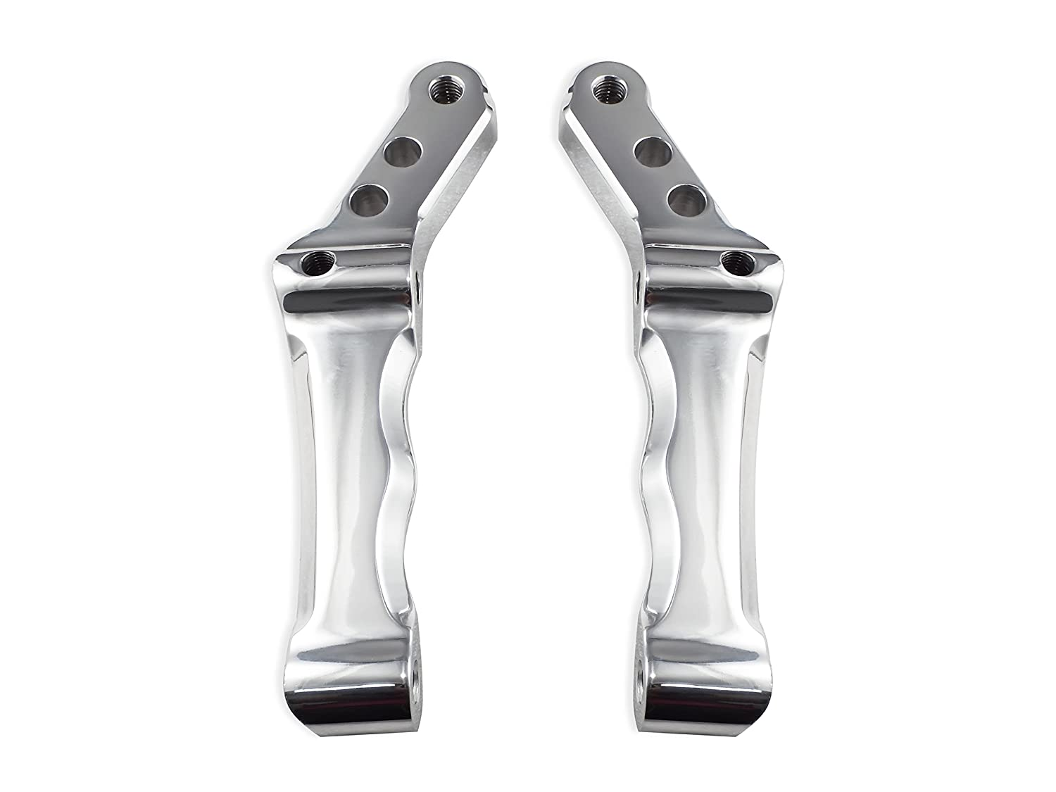 Bagger Brothers BB-RBCM-2P Polished Radial Caliper Mount (for Harley  Davidson Models with Dual Disk/Fits 1996-2013 Touring/Dyna/Softail)