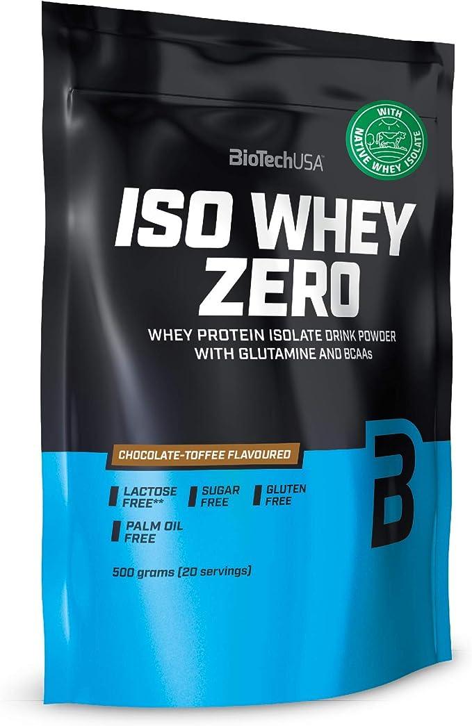 BioTechUSA Iso Whey Zero, 500 g, Chocolate-Toffee