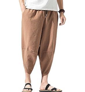 ROBO Hombres Pantalones Ch/ándal Deportivos Cintura El/ástica Estilo de Conicidad Jogger Casual Pants Trousers EU 38-52