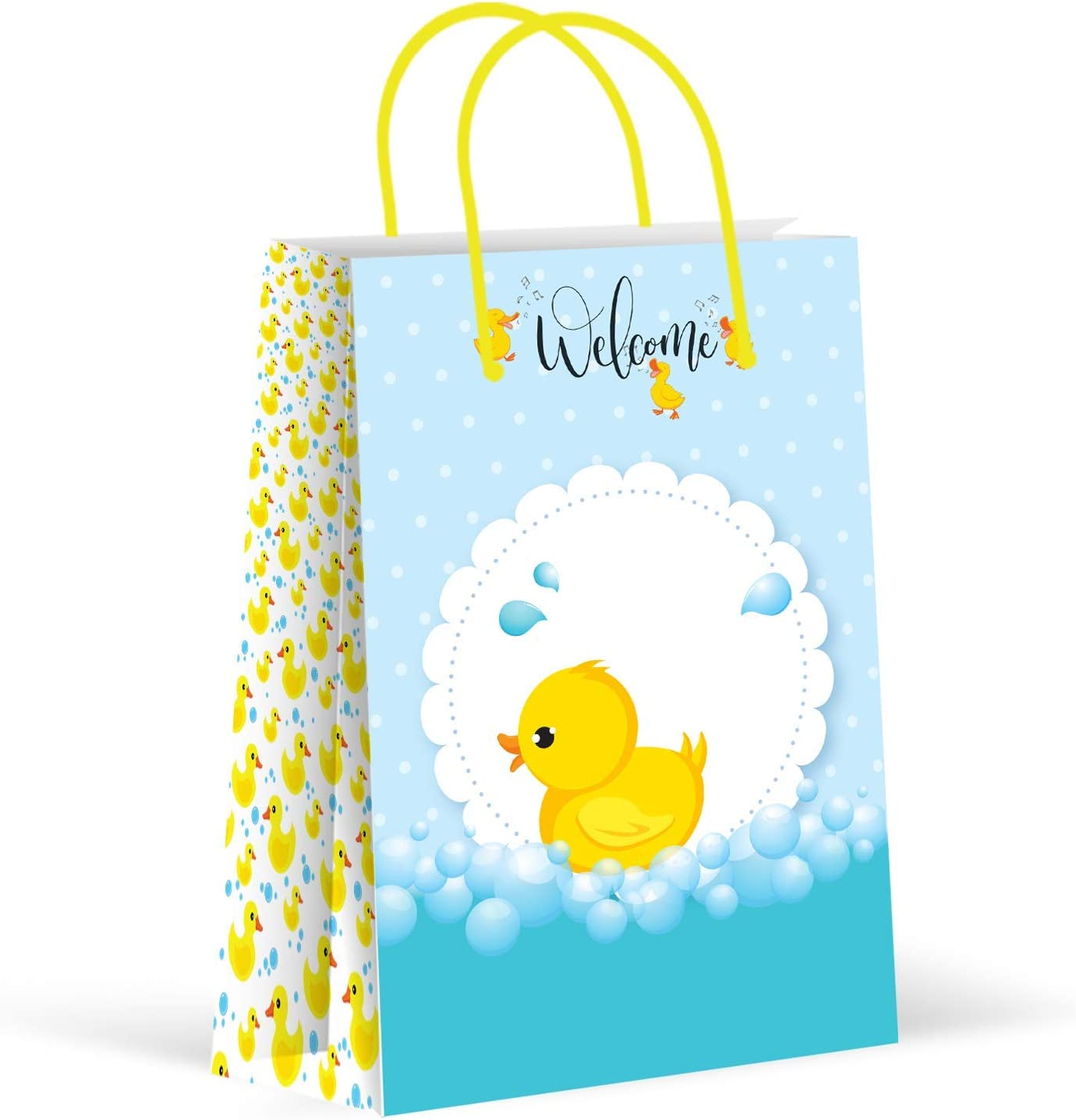 baby shower ducky theme favors