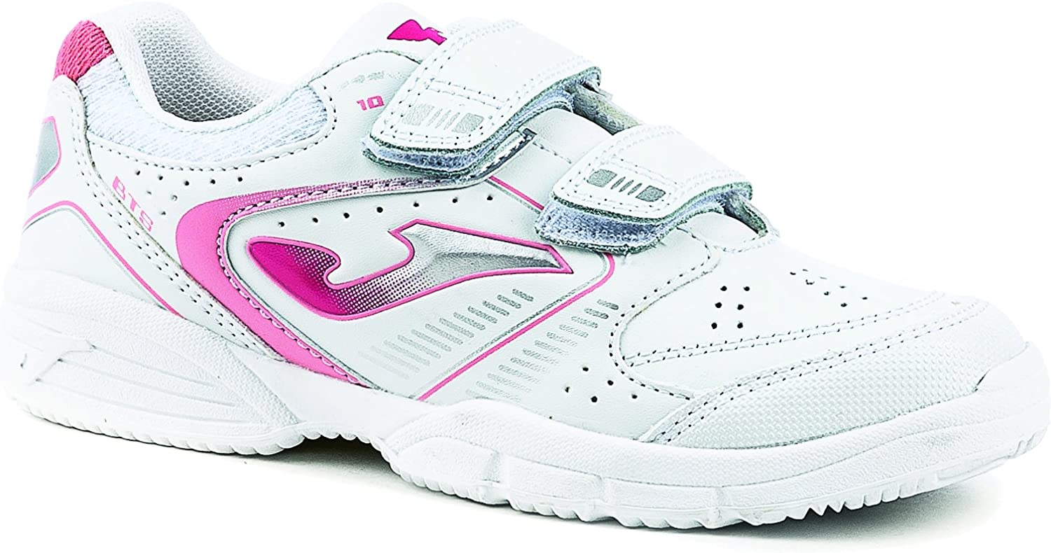 Joma W.School 613 White-Pink - Zapatillas Niña (33): Amazon.es: Zapatos y complementos