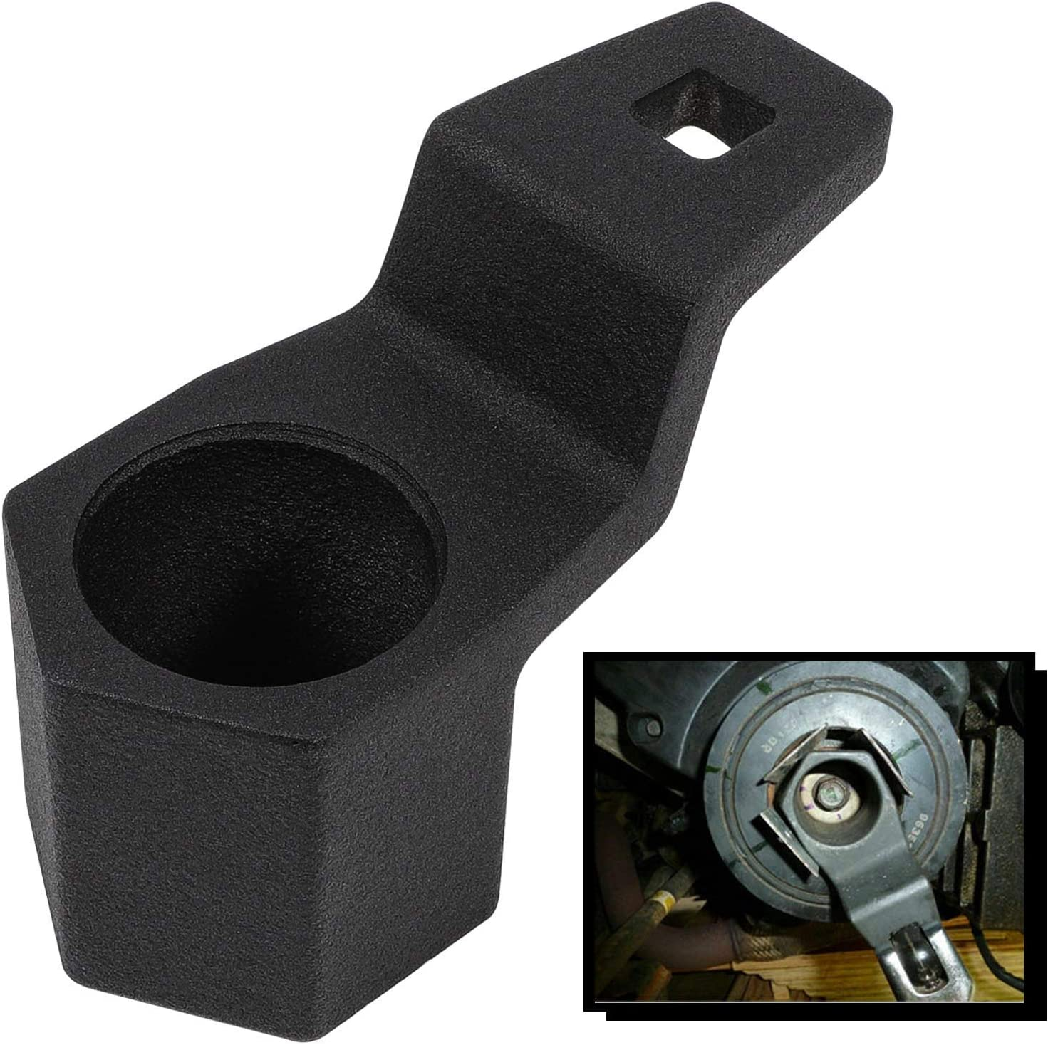 1x 50mm Crank Pulley Wrench Crankshaft Removal Tool for Honda Odyssey Civic CR-V