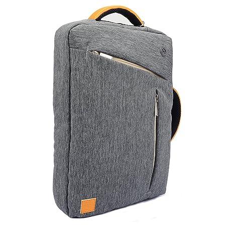 WGS Hybrid Briefcase Messenger Backpack Shoulder Bag for Apple MacBook/ Lenovo/ Dell/ ASUS