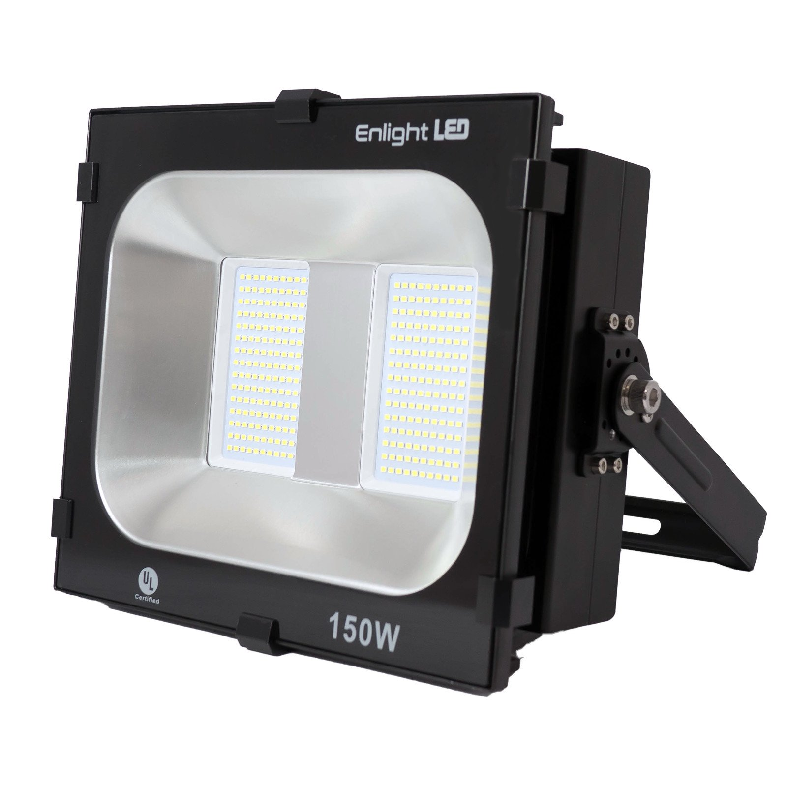 Enlight LED LD-FD-K150U UL Certified 150W LED Flood Light 120 Degree Light Angle 15,000 lm, Cool White, Heavy Duty Aluminum