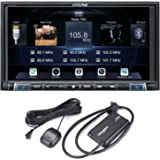 Alpine iLX-207 7-Inch Mech-less Apple Car Play Android Auto Audio/Video system with SiriusXM Satellite Radio Tuner