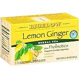 Bigelow Herbal Lemon Ginger Tea, 1.39 Ounce (Pack of 6)