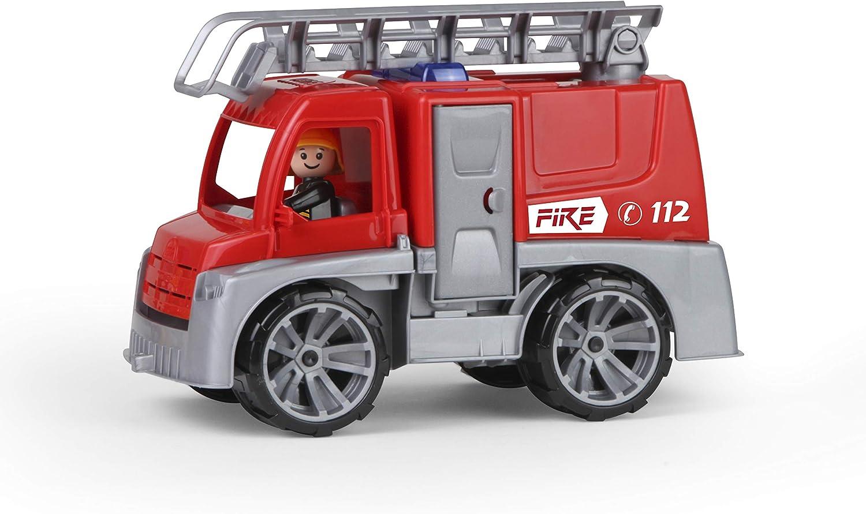 Lena TRUXX 04447 vehículo de juguete - Vehículos de juguete (Gris, Rojo, Camión, De plástico, Firebrigade, Interior / exterior, 2 año(s))