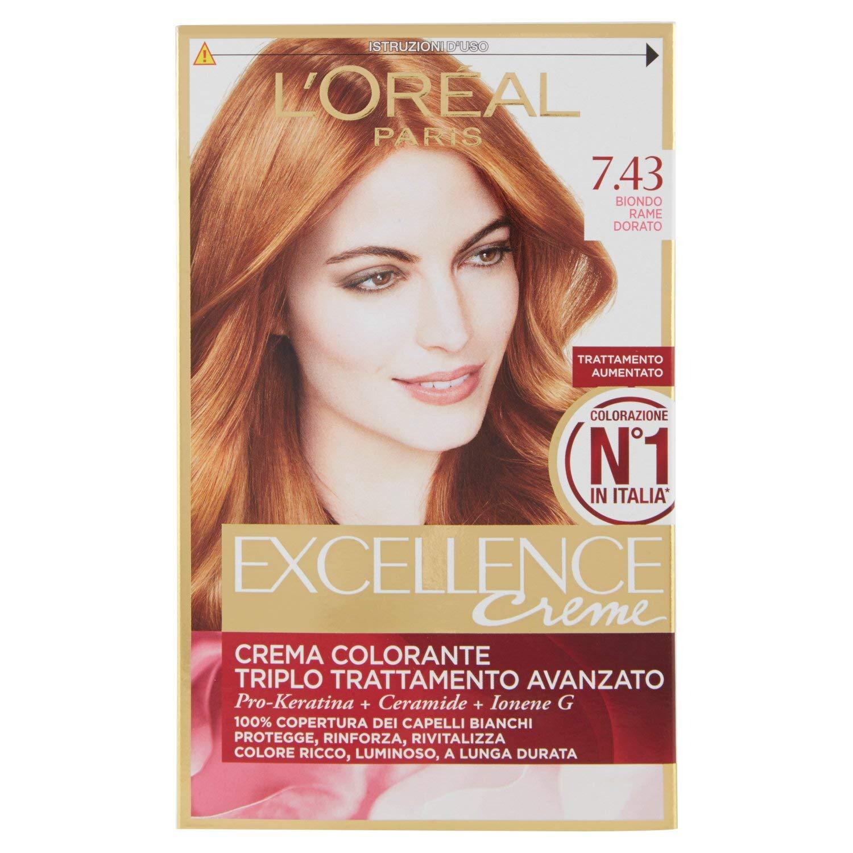 L Oréal Paris Excellence Crema Colorante Triplo Trattamento Avanzato ... b038babd9986
