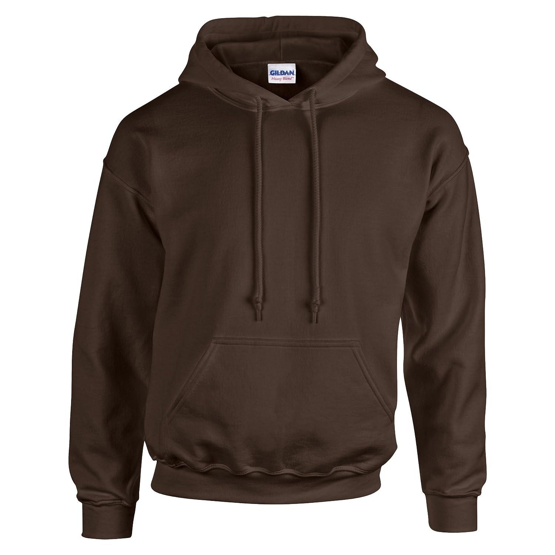 Gildan - Sudadera gruesa con capucha de combinación de tejidos Unisex: Amazon.es: Ropa y accesorios