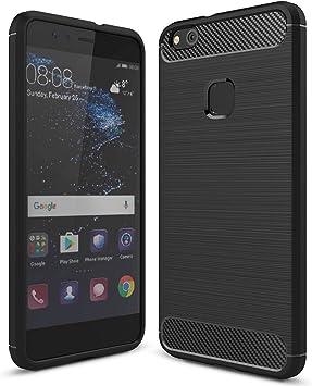 Tutuwen - Carcasa de silicona para Huawei P10 Lite, transparente ...