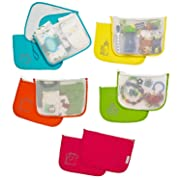 Diaper Bag Organizer Pouches by MOTHER LOAD - Designed for The On-The-Go Family (Mom & Dad's), Organize Any Traditional Diaper Bag, Purse or Backpack with This 5 Piece Set from Mother Load
