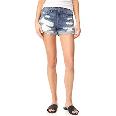 7 For All Mankind Women's Destroyed Shorts