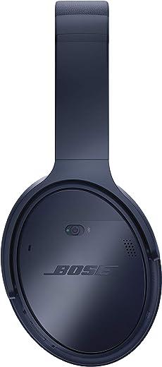 Bose QuietComfort 35 (Series II) Wireless Headphones, Noise Cancelling, with Alexa voice control – Triple Midnight (Renewed)