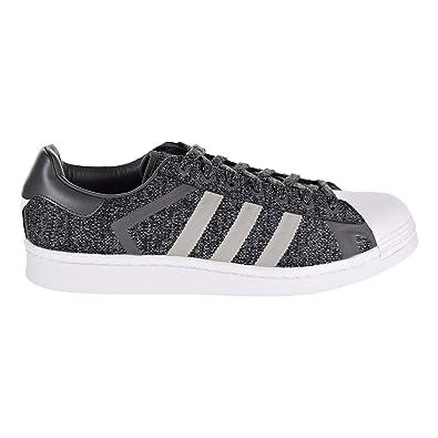 bc4d82e86080 adidas Men s Superstar Black White AQ0351 (Size  ...