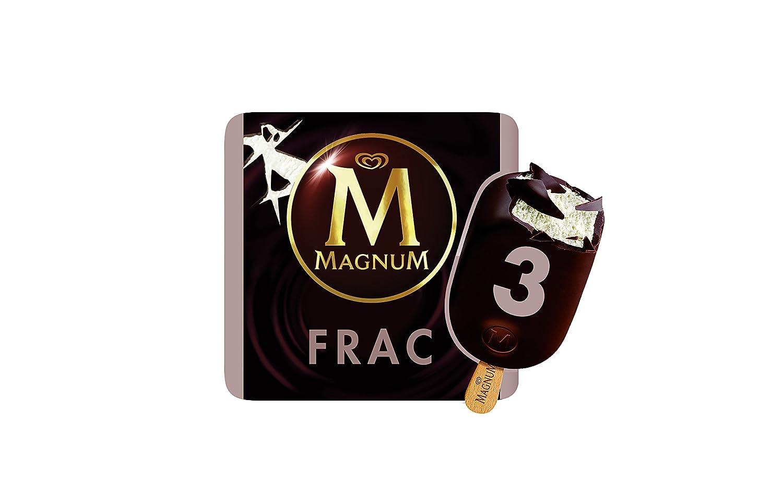 Magnum Frac - Helado sabor nata con chocolate, 3 unidades: Amazon.es: Alimentación y bebidas