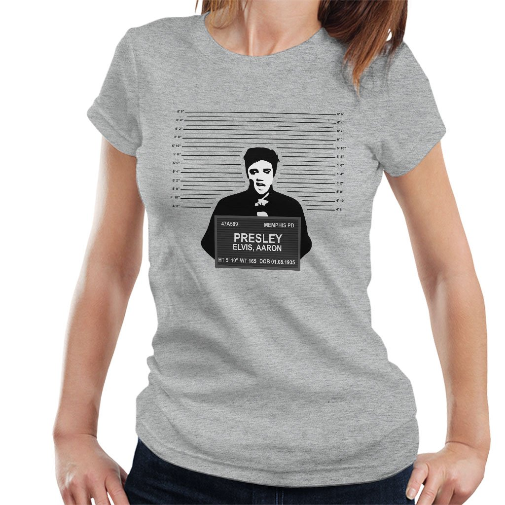 Elvis Presley Mug Shot T Shirt 5939
