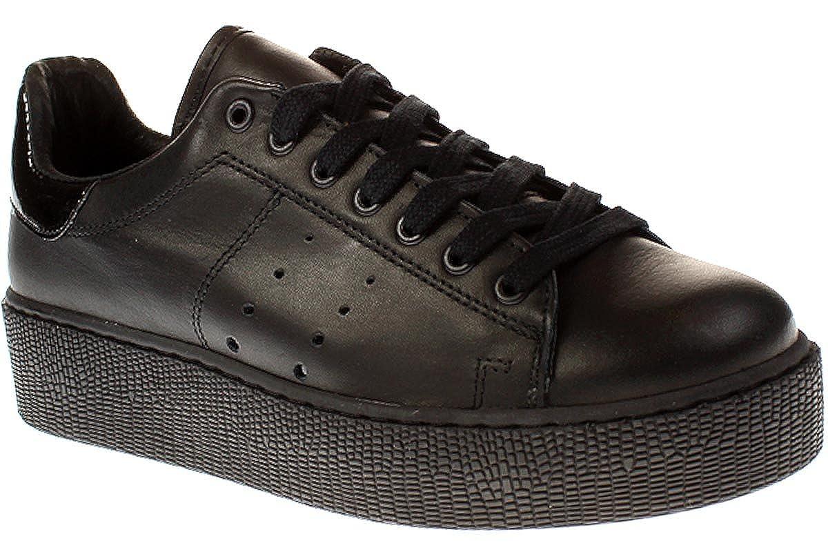 Tango Chantal 12-K - Damen Schuhe Turnschuhe - 100-schwarz