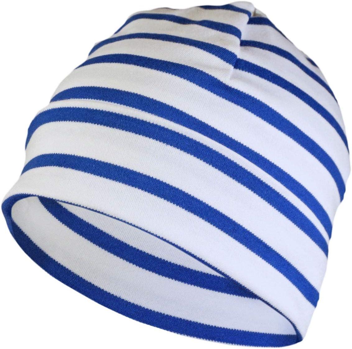 Modas Bonnet Breton Couleur:wei/ß//blau Taille/:3