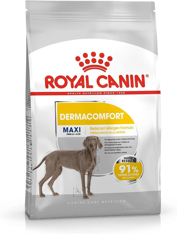 Royal Canin Dermacomfort Maxi - Pienso para Perros Grandes Especial Protección Piel y Pelo 10Kg