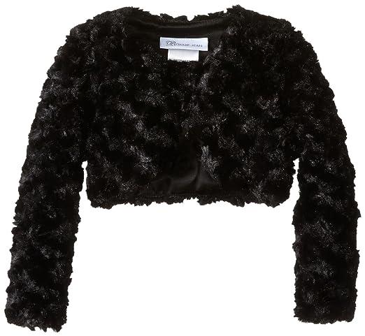 Amazon.com: Bonnie Jean Girls' Faux Fur Jacket: Clothing