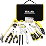 DOWELL Tool Set 126 Piece General Portable Household Hand Tools Set With Tool Bag Storage Case