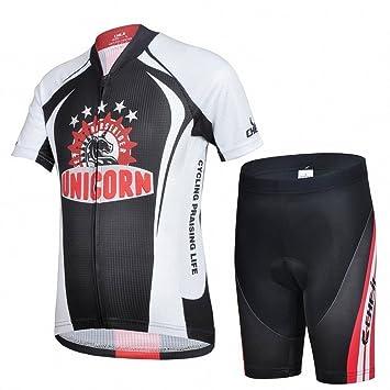 M&A JT-Amigo Maillot DE Ciclismo Pantalones Cortos para Niños