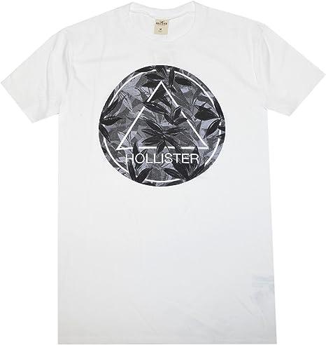 Hollister hombre estampado Floral gráfico camiseta: Amazon.es: Ropa y accesorios