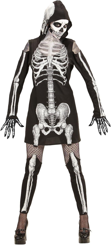 Disfraz de Halloween para mujer, vestido de esqueleto * 24556 ...