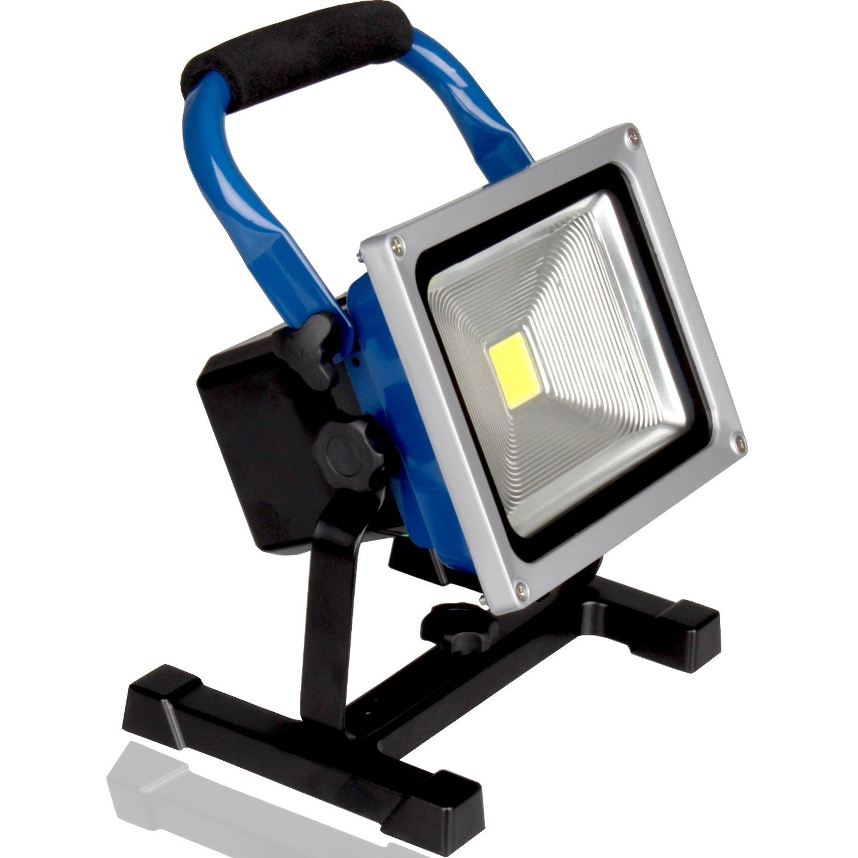 8800mAh kraftmax 20W Akku LED Baustrahler//Flutlicht//kabellose Arbeitsleuchte 1800 Lumen