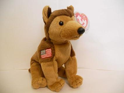 8c44403611d Amazon.com  Ty Beanie Babies Courage NYPD German Shepherd Dog  Toys ...