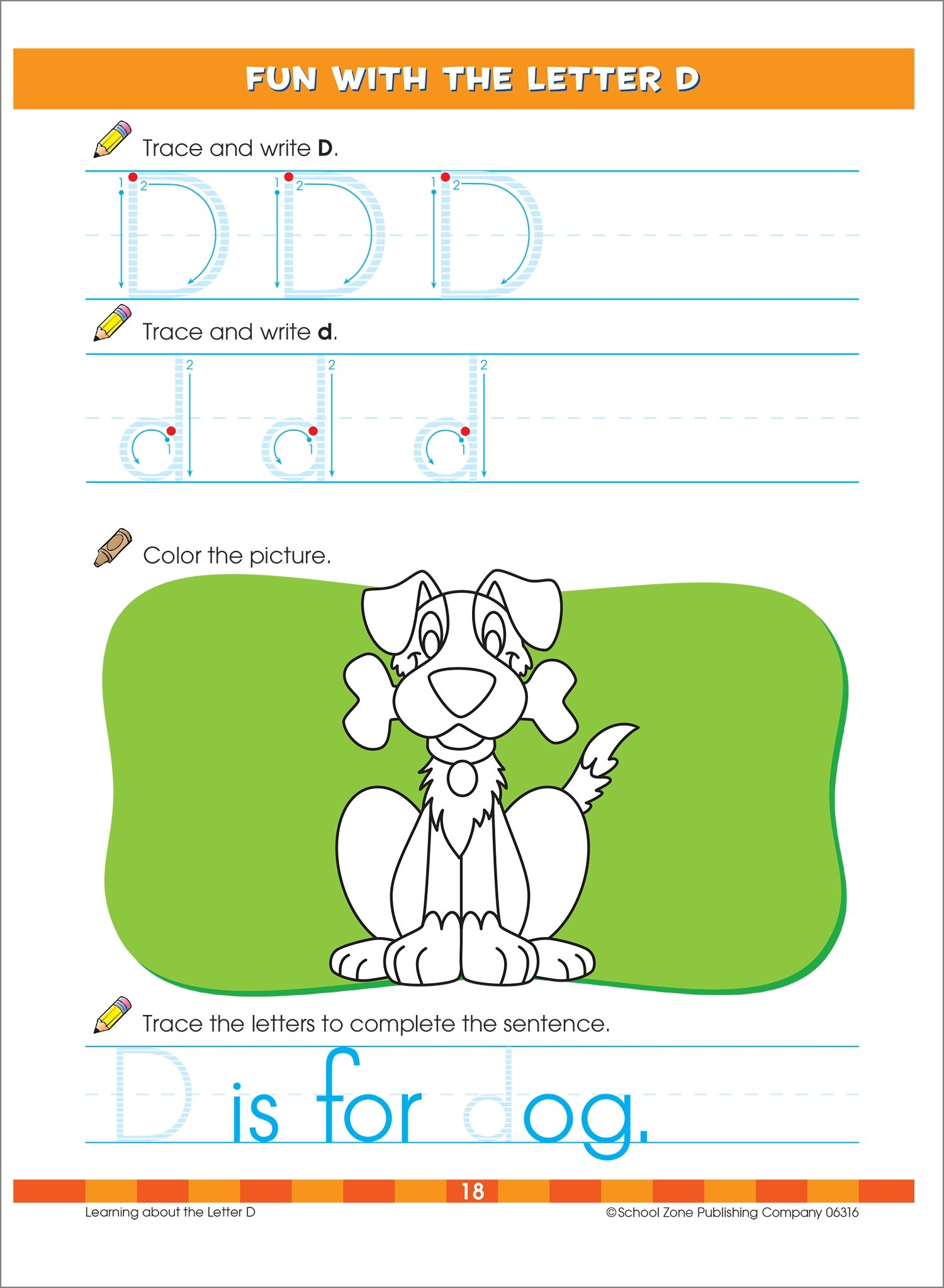 Big Kindergarten Workbook, Ages 5-6, K, 320 pages, outstanding ...
