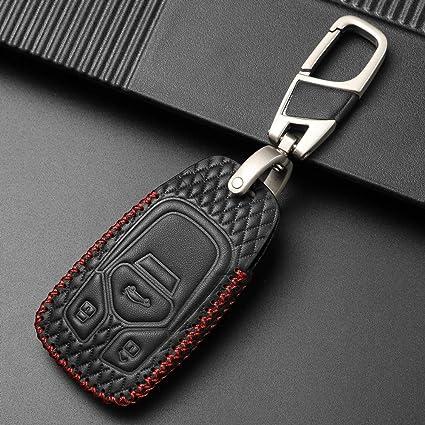 Amazon.com: Hyunkey - Funda de piel para llavero de coche ...