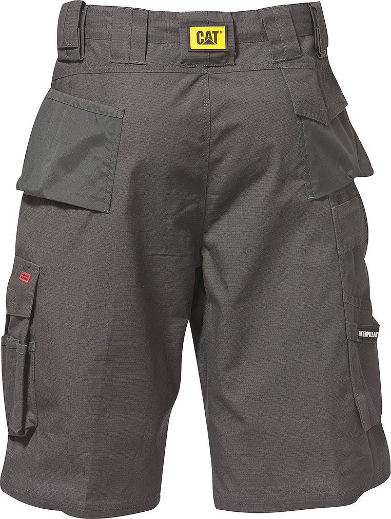 Caterpillar Men's DL Trademark Work Shorts 42 GRAY