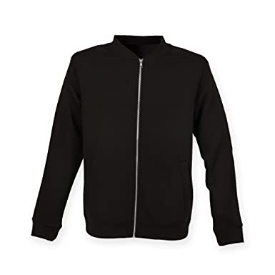 Plain black bomber jacket mens