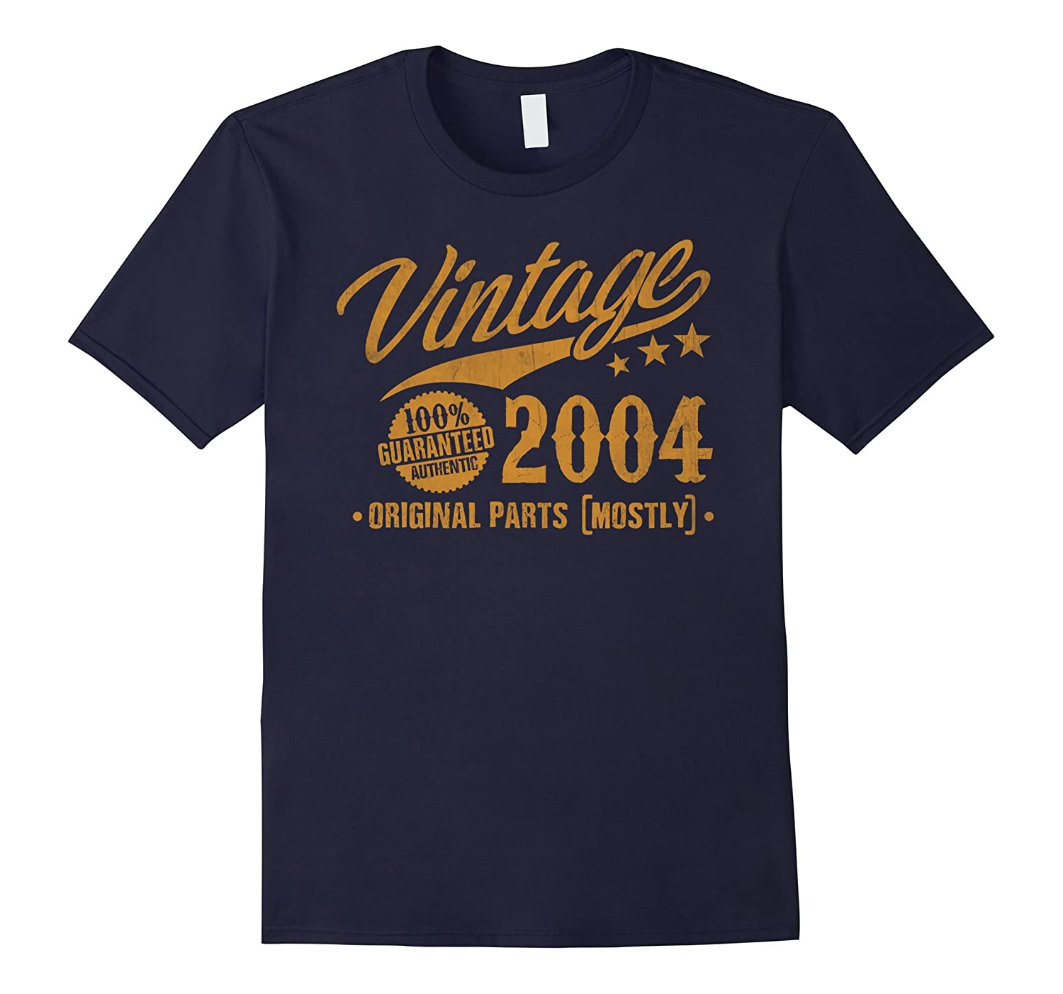 13th Birthday Gift T-Shirt Vintage 2004 - 13 Years Old Shirt-PL