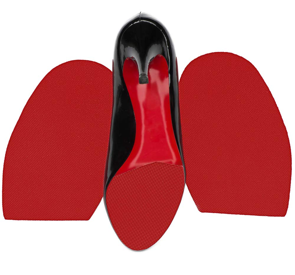PROTECT OUR SOLE Red Rubber Sole Repair for Christian Louboutin Heels - Half Soles