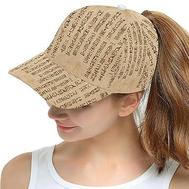 0046846c9ae Lumos3DPrint Egyptian Decor Snapback Hat Baseball Cap at Amazon ...