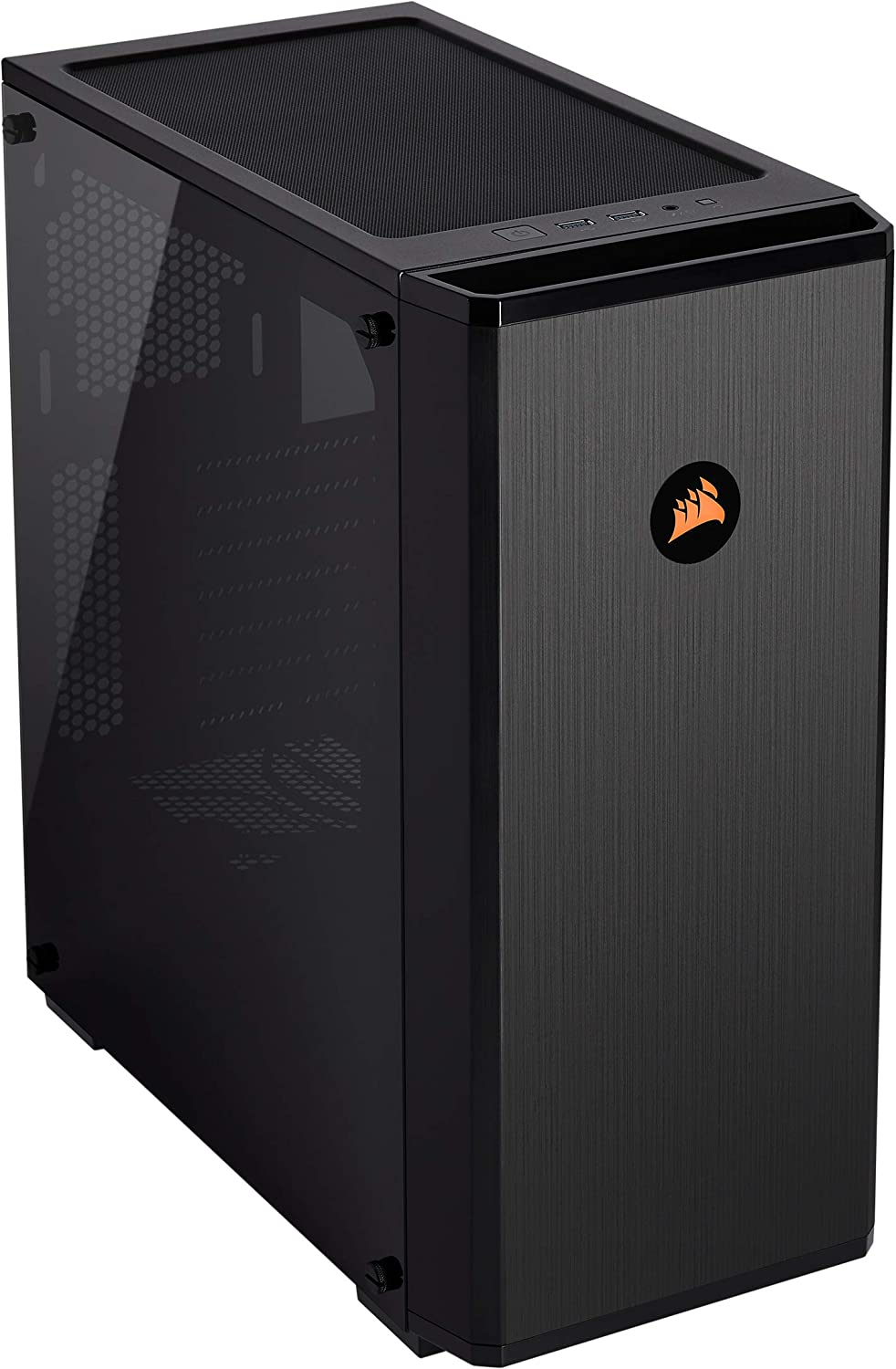 Corsair Carbide Series 175R RGB Tempered Glass Mid-Tower ATX Gaming Case, Black - CC-9011171-WW