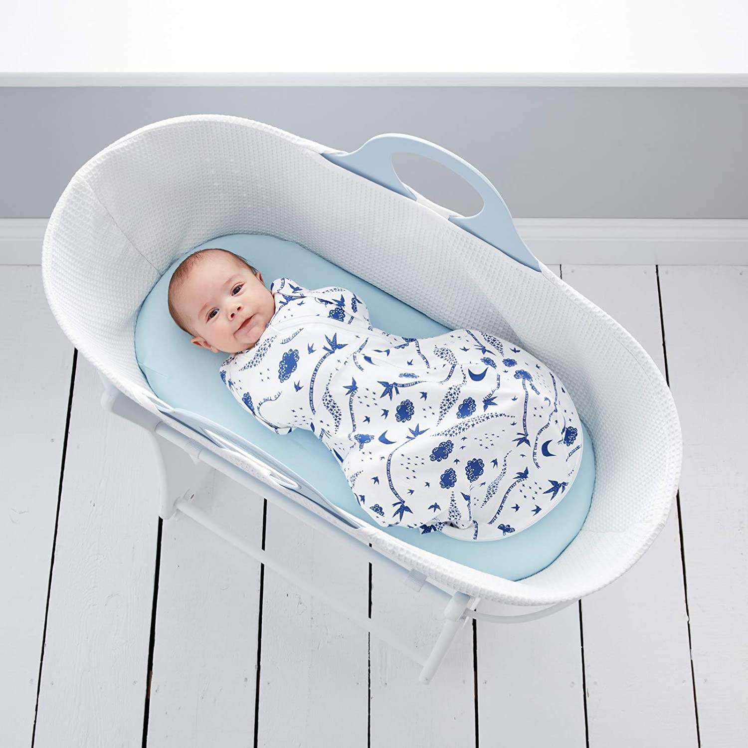 0-3 Months Cosy The Gro Company Rob Ryan Nightfall Grosnug 2-in-1 Swaddle and Newborn Grobag