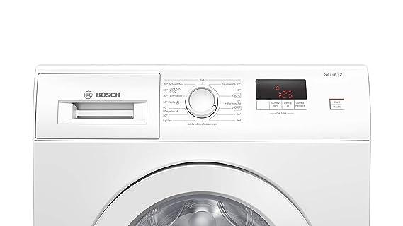 Bosch WAJ28020 Serie 2 - Lavadora frontal, A+++/157 kWh/año, 1400 ...